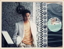 Leslie Cheung   SUMMER ROMANCE'87  official album LP Vinyl  with colored booklet HONG KONG version second handed 95% new