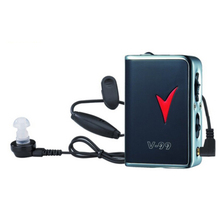 AXON V-99 Headphone Amplifier Pocket Hearing Aid Personal Sound Amplifier Acousticon For Healthy Hearing