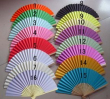 100PCS/LOT Wedding Paper Fan,Bride Hand Fan with bamboo ribs,Craft Fan wedding bridal shower favor party gift