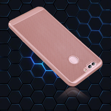 Case For Huawei Nova 2 Plus Hard Plastic PC Ultra Thin Slim Protective Hard Case For Huawei Nova2 Plus Heat Radiation Back Cover(China)