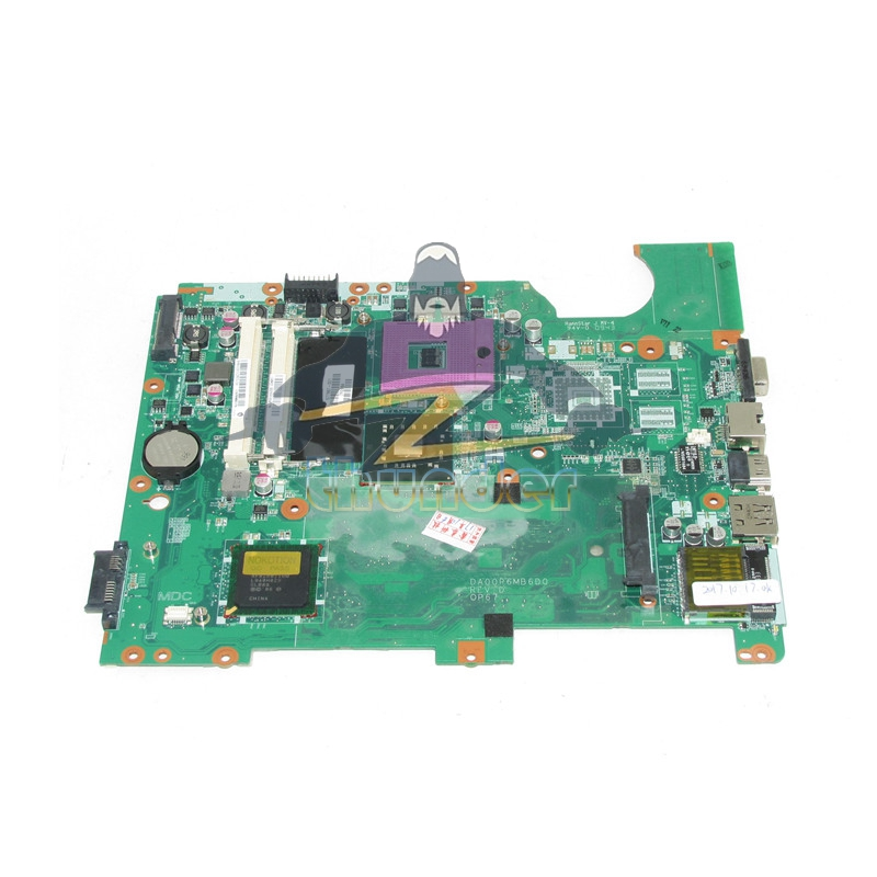 577997-001 For HP CQ61 G61 Laptop Motherboard DA00P6MB6D0 GL40 DDR2 Free CPU Full tested