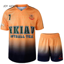 plain round v jersey slim fit soccer jersey original football sets free shipping