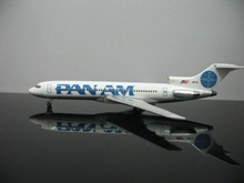 1:500 Pan American Airlines 727 N4734 Aircraft Model MINI Airplane Model For Sale