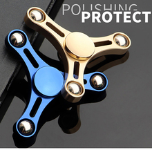 Buy Metal Tower Hand Spinner Tri Fidget Spinners Finger Figet Spiner Speaker Toys Anti Stress Relief kids child handspinner Gift for $3.39 in AliExpress store