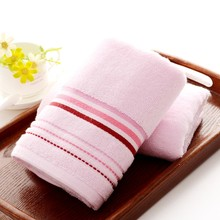 2016 New 34*75cm Luxury Cotton Face Towels High Quality Bathroom Hand Face Towels Striped Facial Terry Face Towels