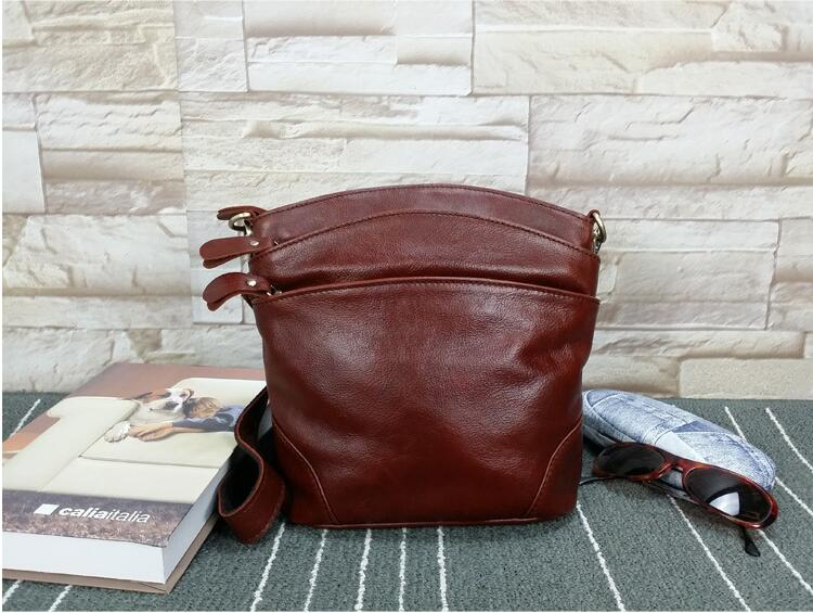 New shell bag firost layer cow leather flap bag womens small messenger bag <br><br>Aliexpress