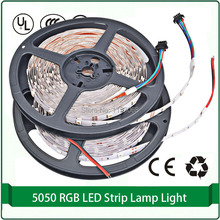 flexible led strip 10m 60 led / meter smd led strip lights DC 12V green pink yellow RGB warm white color(China)