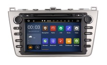 Quad Core Android Fit MAZDA 6 , Ruiyi , Mazda6 Ultra 2008 - 2011 2012 Car DVD Player Navigation GPS Radio dvd stereo head unit