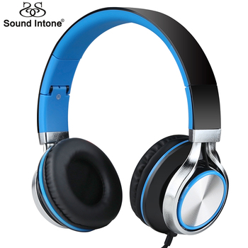 Sound Intone Ms200s Filaire Casque dans un Style Simple pour Mobile Téléphone Forte Basse Casque pour PC Android 3.5mm Jack Casque
