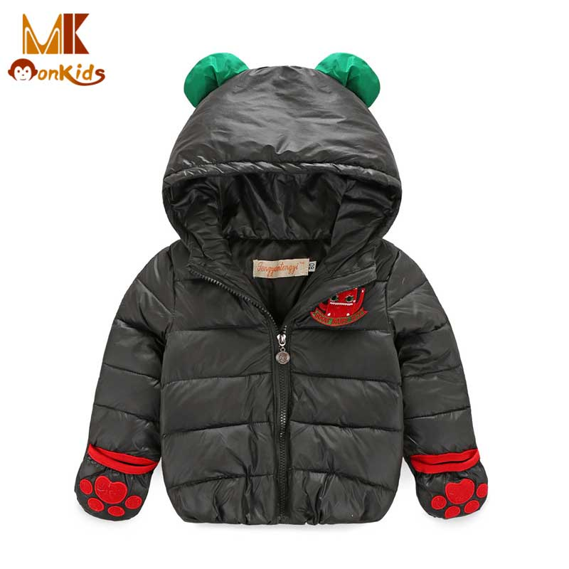 Monkids Protection Hand Windproof Down Jacket Girls Winter Jacket Girls Parkas Winter Coat Children Clothing Warm Kids ClothesОдежда и ак�е��уары<br><br><br>Aliexpress