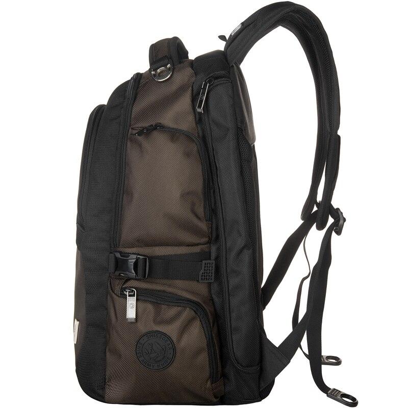 Waterproof school bag Swiss army Cross brand Backpack gear Men 15 inch Laptop Bag Sac A Dos Men Backpacks Swiss Travel BackpacK<br>