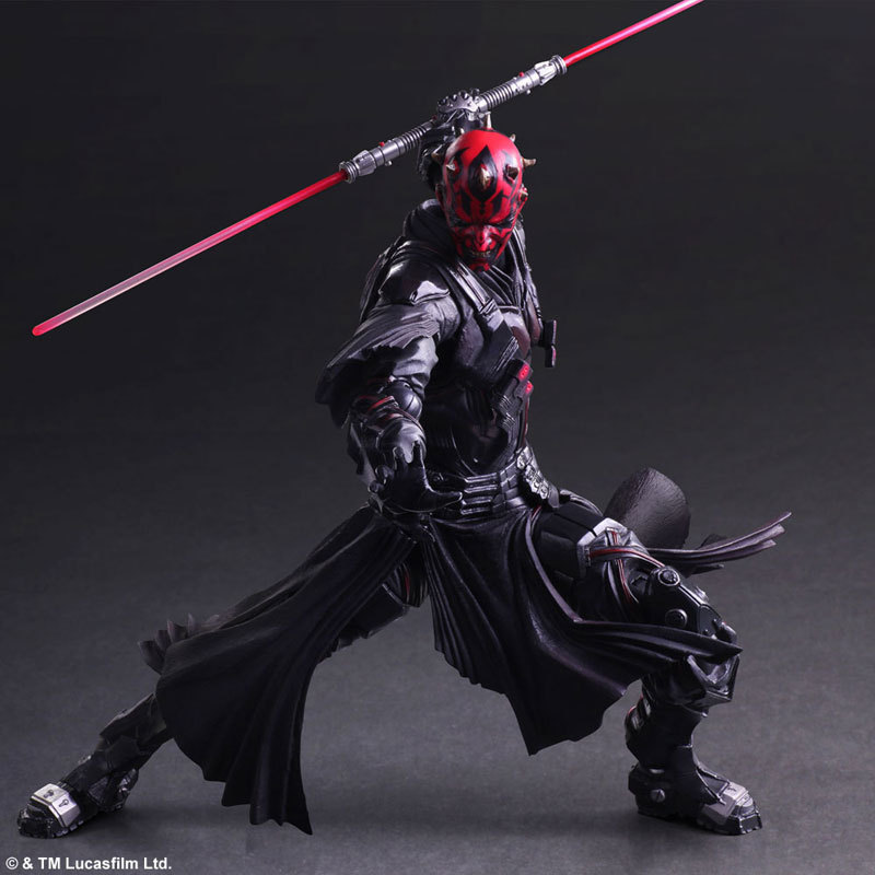 26cm Star War Darth Maul Play Arts Action Figure Model Toy Come<br>