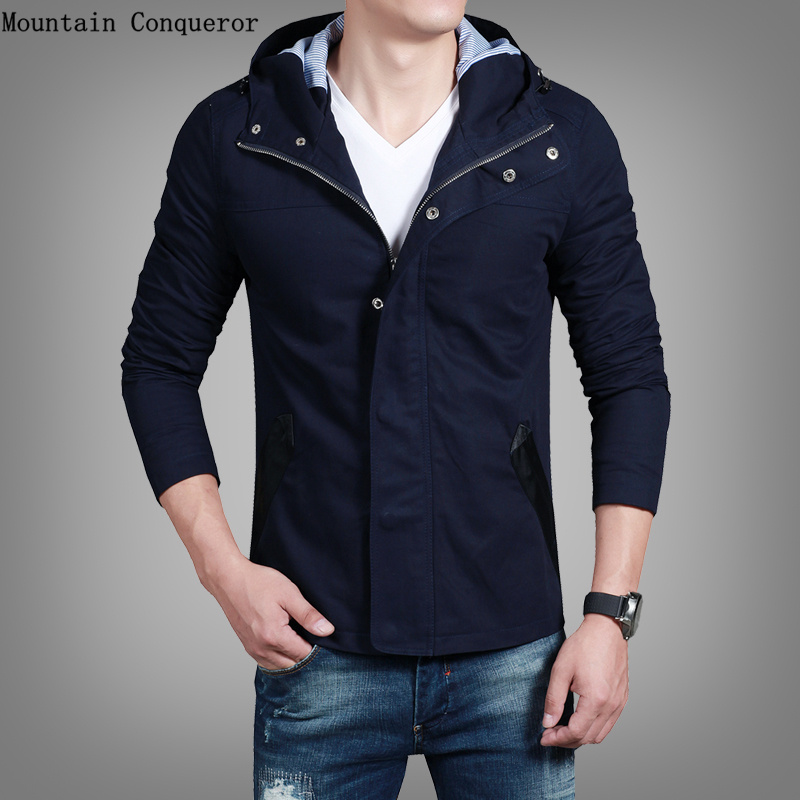 Mountain Conqueror High Quality 100% Cotton Bomber...
