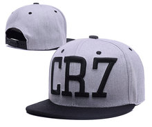 5 Colors 2016 Cristiano Ronaldo CR7 Black Blue Baseball Caps hip hop Sports Snapback Football hat chapeu de sol bone Men women