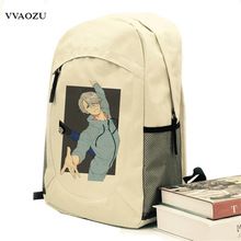 Yuri on Ice Victor Nikiforov Backpack Yuri Plisetsky Yuri Katsuki Cosplay Canvas Rucksack Shoulder Bags Daypack Schoolbag