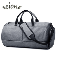 A++Quality Canvas Sport Bag Training Gym Bag Men Woman Fitness Bags Durable Multifunction Handbag Outdoor Sporting Tote For Male