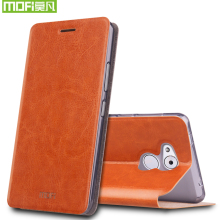 Huawei Honor 6C Case Flip Original Mofi Luxury PU Leather Funda Coque Cover Case For Huawei Honor 6C With Phone Stand