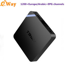 IPTV Arabic Europe Smart Android TV Box T95N 2G +8G Iptv Subscription 1 Year French Turkey Italy UK Asia +VOD IPTV Set Top Box
