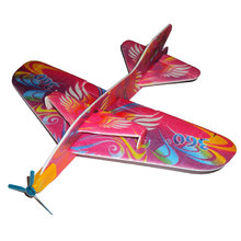 New Hot 1pc Kids Foam Flying Glider Planes Toys Aeroplane Party Bag Fillers Children Toys Game Prizes Gift Model Random Color