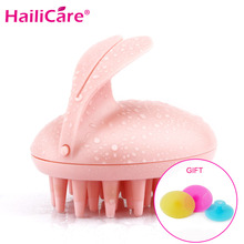 Cute Rabbit Electric Scalp Massager Magic Shampoo Comb Vibration Head Massage Stress Relief Bath Hair Wash Care Body Relax Tool(China)