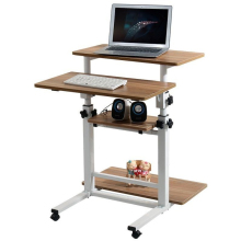Ya Qi resistant simple fashion mobile desktop comter desk lifting table summary FREE SHIPPING