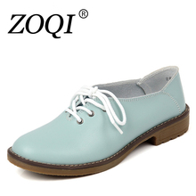 Genuine Leather Oxford Shoes Women Flats 2017 Fashion Women Shoes Casual Moccasins Loafers Ladies Shoes sapatilhas zapatos mujer