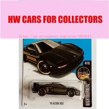 New 2017L Hot Wheels 1:64 Black 90 ACURA NSX Metal Diecast Cars Collection Kids Toys Vehicle For Children Juguetes Models