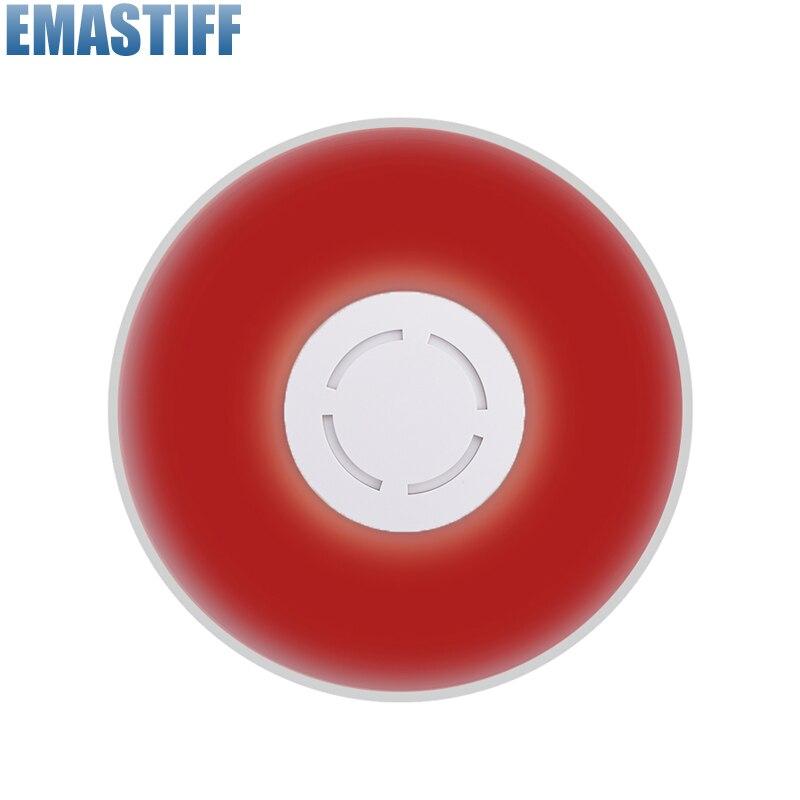 315mhz MHz Wireless Flash Siren Alarm Siren Horn Red Light Strobe Siren For C2B/C3B Home Alarm System Security kit<br>