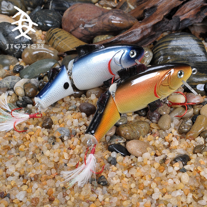 Jigfish Many Fish 130MM 37g Can Hard Bait Two Fish Festival Offshore Angling Bait Road Second Bait Sailfish Designed To Kill<br><br>Aliexpress