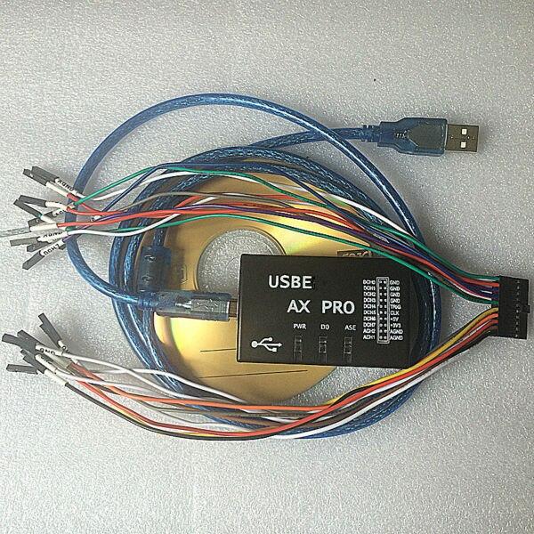 Logic Analyzer Virtual Oscilloscope AX PRO osciloscopio Fully functional multimeter AXPRO oscilloscope 24M sampling rate<br><br>Aliexpress