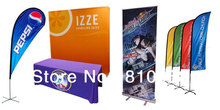 Display Equipment, Feather Flag, Teardrop Flag, Roll up Banner, X Banner, Tradesow Table Cover, POP upbackdrop