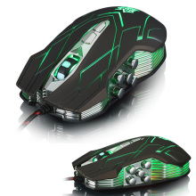 Buy Wired 9D JS-X9 II 3500DPI USB Optical Ergonomic Gaming Mouse Gamer Built Weight Red/Green/Blue LED Backlit Laptop Computer for $18.99 in AliExpress store