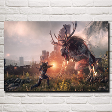 The Witcher Video Game Art Silk Poster Home Decor Printing 12x18 16X24 20x30 24x36 Inches Free Shipping