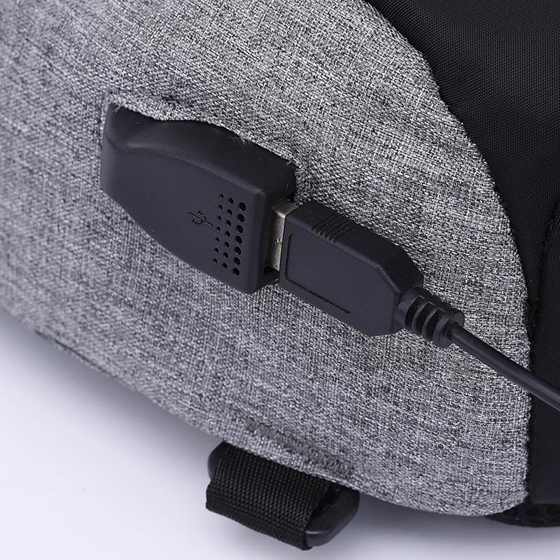 Men Anti Theft Backpack USB Rechargeable Crossbody Women Bags Boys Girls Single Shoulder Bag Backpacks Sac A Dos Homme BP0205 (6)