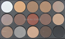 2Set Earth Color Matte Pigment Eyeshadow Palette Cosmetic Makeup Eye Shadow