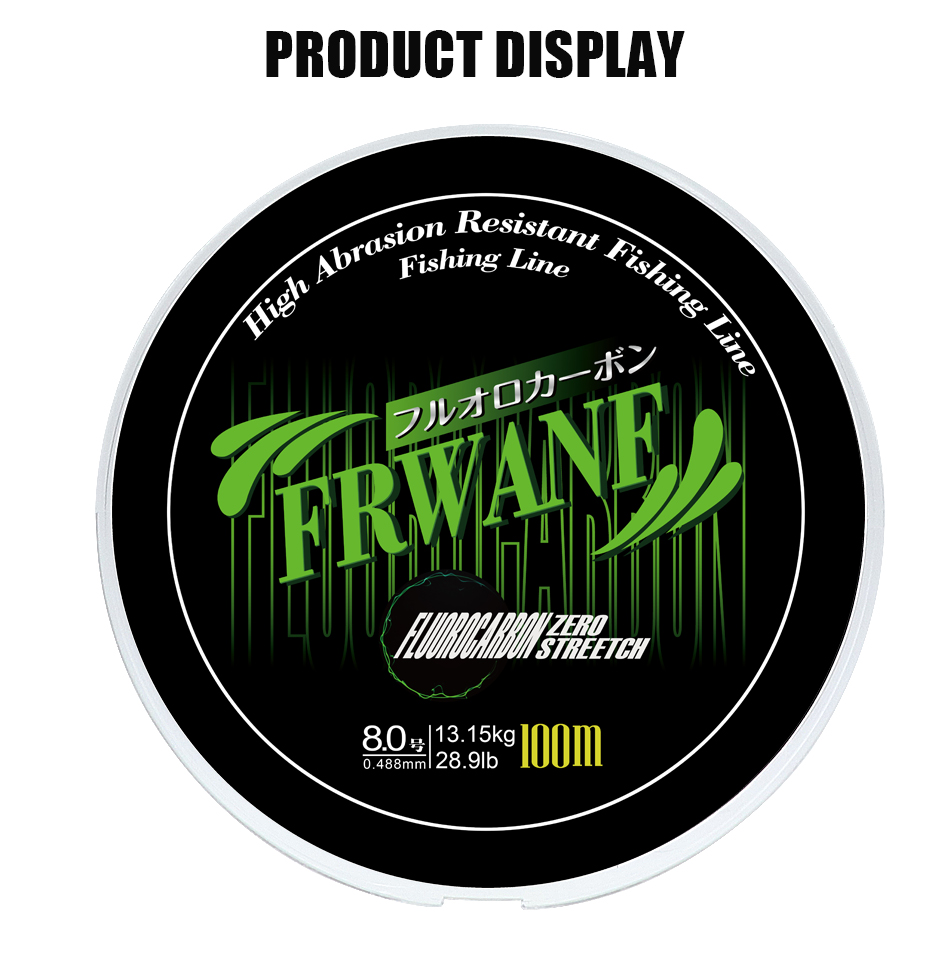 Monofilament Fishing Line Fluorocarbon (9)