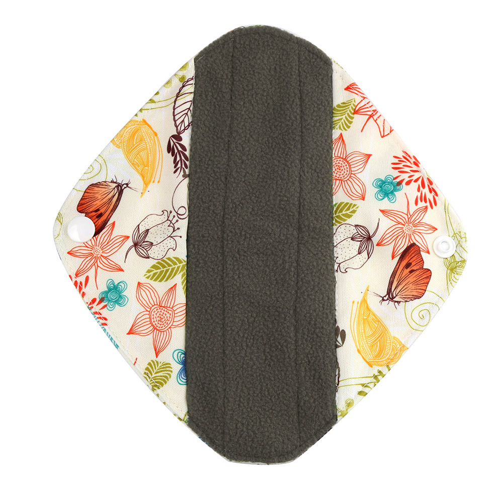 1pc New Arrival Women's Reusable Bamboo Cloth Washable Menstrual Pad Mama Sanitary Towel Pad Pretty Feminine Hygiene Product 17