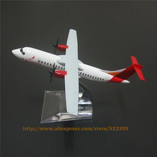 14cm Metal Airplane Model Air Avianca ATR 600 Airlines Avianca ATR 600 Aircraft Airways Plane Model W Stand  Gift