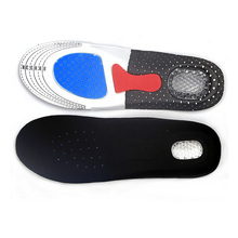 New Free Size Unisex Orthotic Arch Support Shoes Pad Running Gel Insoles Insert Cushion for Men Women H7JP