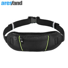 2016 Waist Bags Running Fanny Pack Women Waist Pack Pouch Belt Bag Men Purse Mobile Phone Pocket Case Camping Hiking Sports Bag