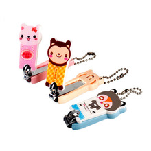 Stylish Nail Clippers Lovely Cartoon Animal Character Parrern Clippers Household daily Nail Cutter Clipper Trimmer Scissor(China)