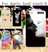 Hard Plastic Phone Cases For Apple iPod Touch 6 6th touch6 Touch 5 5th 5G touch5 Cover Sexy Girl Lips Painted Protection Shell