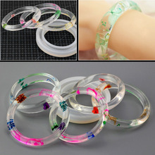 Silicone Resin Casting Round Bracelet Mold Mould Bangle Bracelet Jewelry Making Tools(China)