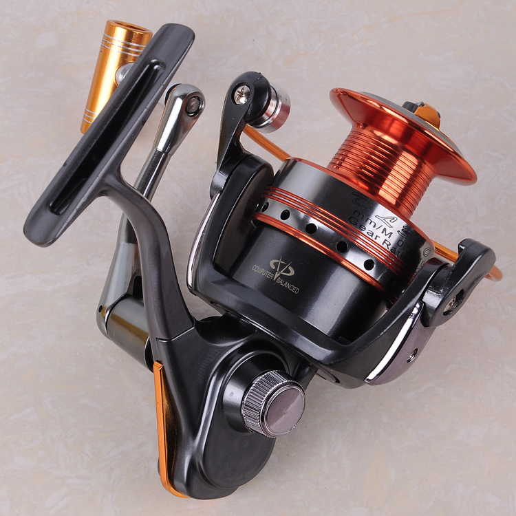 2017 12BB+1BB High Power Gear Metal Spinning Spool Aluminum Fishing Reel 3000 Free Shipping(China)