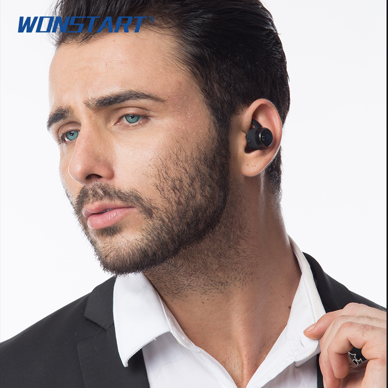 Mini Wireless Bluetooth Earphones Waterproof IPX6 Sport Running Stereo Bass Earbuds fone de ouvido with Charging Box for iPhone<br>