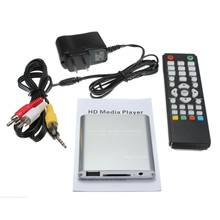 Top Selling New Full HD 1080P Mini HDD Multi Media Player POUR HDTV MKV H.264 RMVB HDMI With HOST USB SD Card Reader