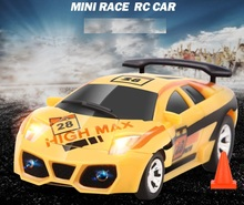 Mini rc car model toys with electric remote control car toys for boys gift(China)