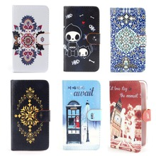 *Flip Wallet Card Slot Stand Faux Leather Case Cover For Microsoft Lumia 640 Phone Cases