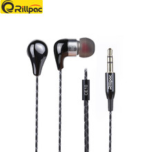 Rillpac CE10 Noise Isolating In-Ear Stereo Earphones Ceramic Metal Construction HiFi Earphone for mobile phone Brand Earphones