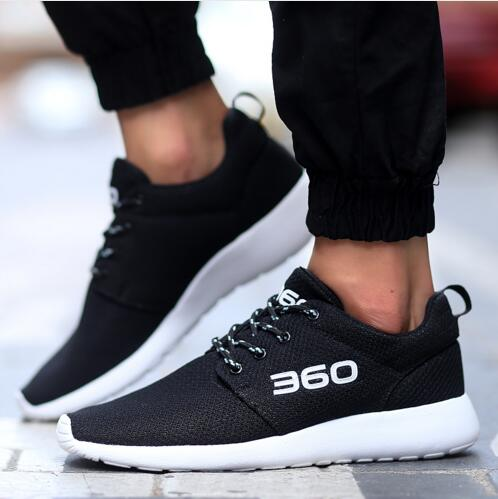Fashion Casual Shoes Men Shoes Summer Breathable Lace Up Shoes Men Flats Mesh Walking Shoes Outdoor Sport Men Shoes Size: 35-44 <br><br>Aliexpress